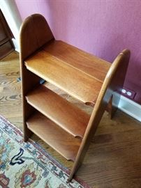 Decorative Wood Step Ladder for Library shelves24w x 16d x 30h