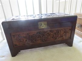 Front view of Chinese chest