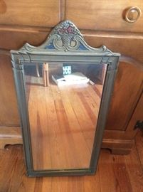 Spectacular antique mirror