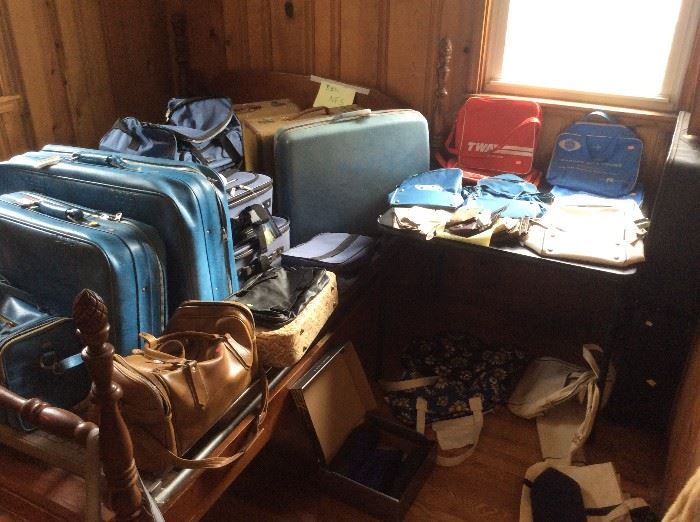Vintage luggage and bags