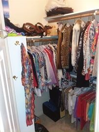 Husbands hide your credit cards, we have just about every ladies clothing ever made!!