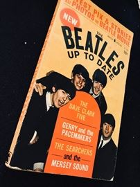Paperback. 1964. The Beatles up to date.