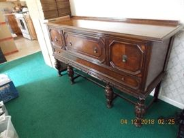 buffet (part of diningroom set - this buffet, table and chairs and blind china cabinet for $550.00)