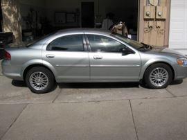 Vin # 1C3EL56R14N127384.  2004 Chrysler Sebring  with 30,000 miles.