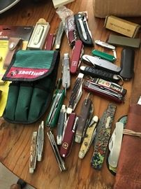 Lot of pocket knives - Old Timer - Schrade and MORE