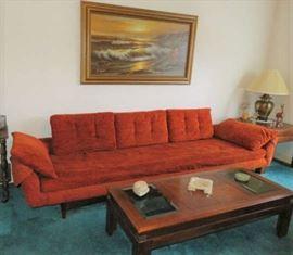 Mid Century Modern Flex Steel Sofa