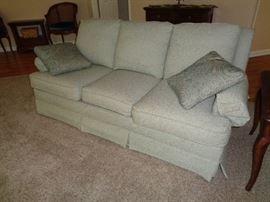 nice, clean sofa
