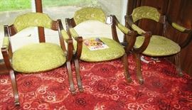 club chairs   BUT IT NOW $ 43.00 EACH