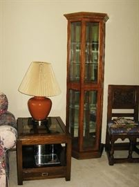 Curio cabinet  BUY IT NOW  $ 85.00