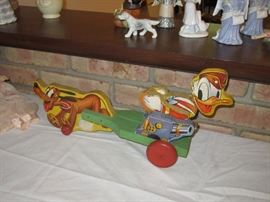 Vintage Disney tin toy