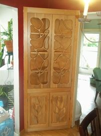 unbelievable handmade custom wood cabinet