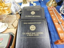 US First day covers books
