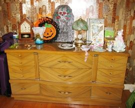 MCM dresser with mirror BUY IT NOW $ 165.00