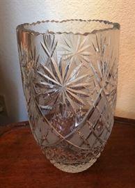 Polish Crystal Vase