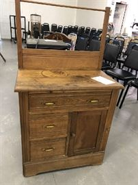 Antique Chestnut Washstand
