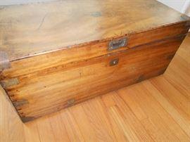 Antique Pine Trunk