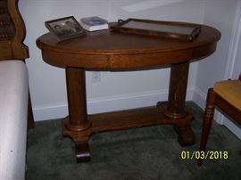 Library Table Oak