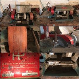 Lapidary Machine Highland Park 6TSC Combination Unit  (2 available)