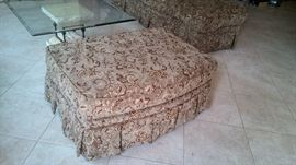 Matching ottoman to the couch