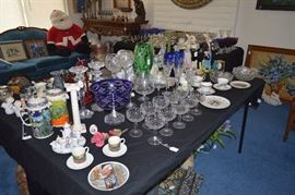 Crystal, glass, porcelain coffee carafes
