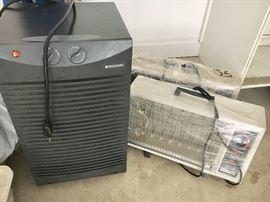 Frigidaire Dehumidifier 2 space heaters.
