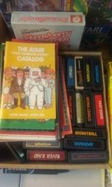 Atari Game console with many games