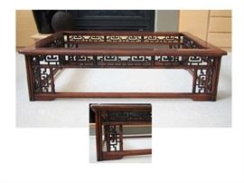 Asian Oversized Coffee Table