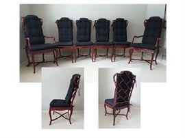 Chairs Asian High Back Cinnamon
