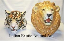 Italian Exotic Animal Art