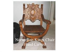 Norwegian Kings Chair