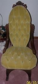 Reproduction Victorian sewing rocker