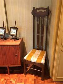 Charles Rennie Mackintosh High Backed Chair