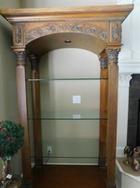 Lighted Open Curio  8.5 x 3.5 Foot