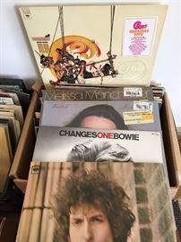 💯 records. Lp's 45's vinyl.  1950-1980. Few older.. Few Newer!