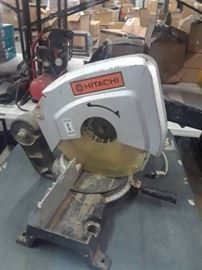 "Hitachi 10"" Miter Saw"