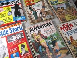 20+ Early 1960's Mens Hollywood, Pin Up, Girly Mags