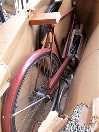 "Vintage New Old Stock Unassembled 1970's Sears 26"" Lightweight Mens/Boys Bicycle in Box - Model No. 502.471230"