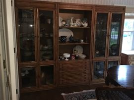 Very large 3 part china cabinet.  Amazing storage!!