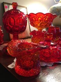 amberina toned glass