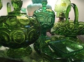 green toned glass