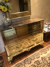Gorgeous Viyet brass chest