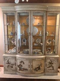 Oriental hutch/cabinet