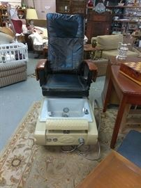 HumanTouch Spa massage/pedicure station chair.  Works incredibly!!