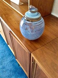 Harding Blank lidded jar date 1965, firm price of $600.00 , no discounts given.