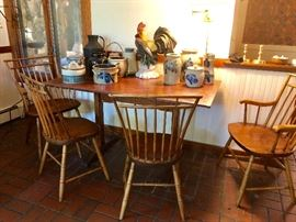 Cohasset Colonial Chairs, Rod Back Windsor