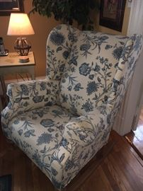 Wing chair in nice shape