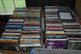 Tons of CDs