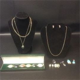 Sterling Silver Jewelry, 14K Gold Necklaces More