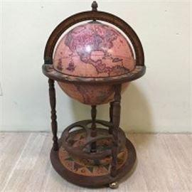 Zoffoli Cabinet Bar Globe
