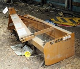 Woods GB65 Box Blade, 5.5' Wide Three Point Hitch